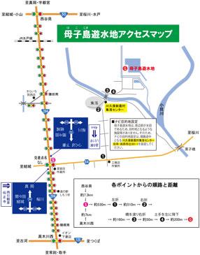 母子島Map