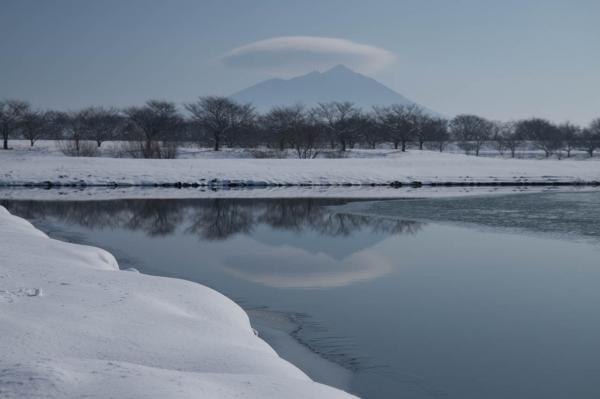 筑波山 かさ雲