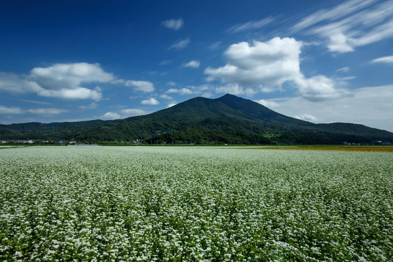 筑波山とそば