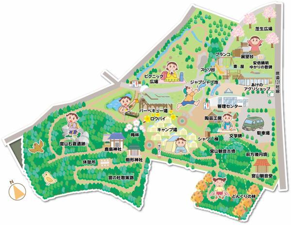 新 宮山公園敷地内MAP